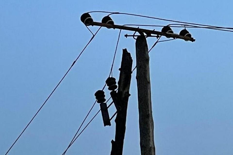Из-за пала сухой травы в Находке повреждено пять ЛЭП и питающие кабели