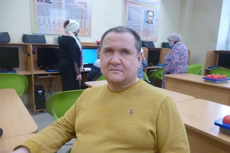 Идрис Хаертдинов.