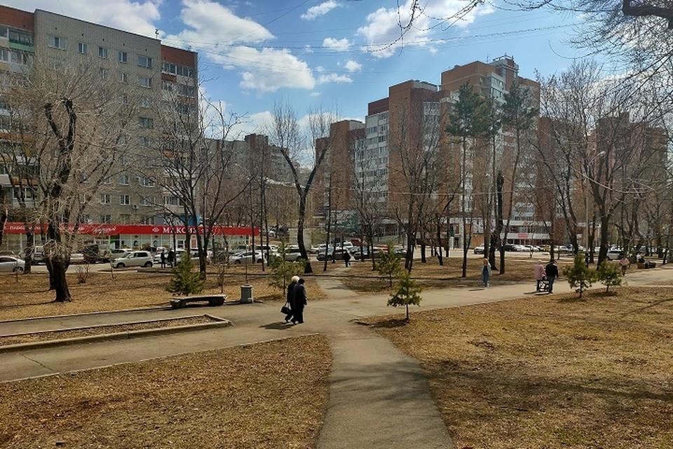 Погода 21 апреля: в Хабаровске ветер утихнет, потеплеет до +16 градусов