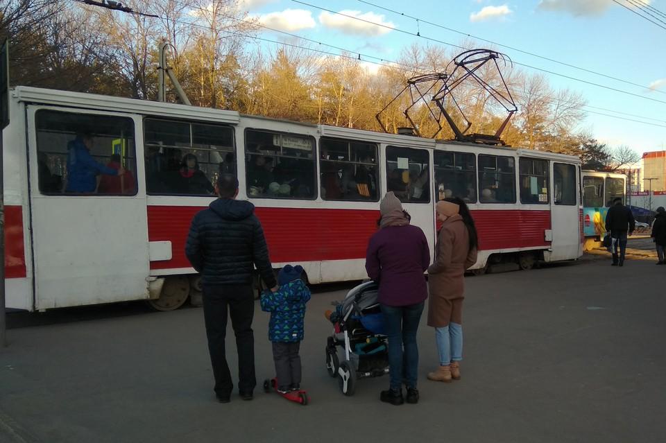 В Липецке из-за ремонта путей изменится работа трамваев