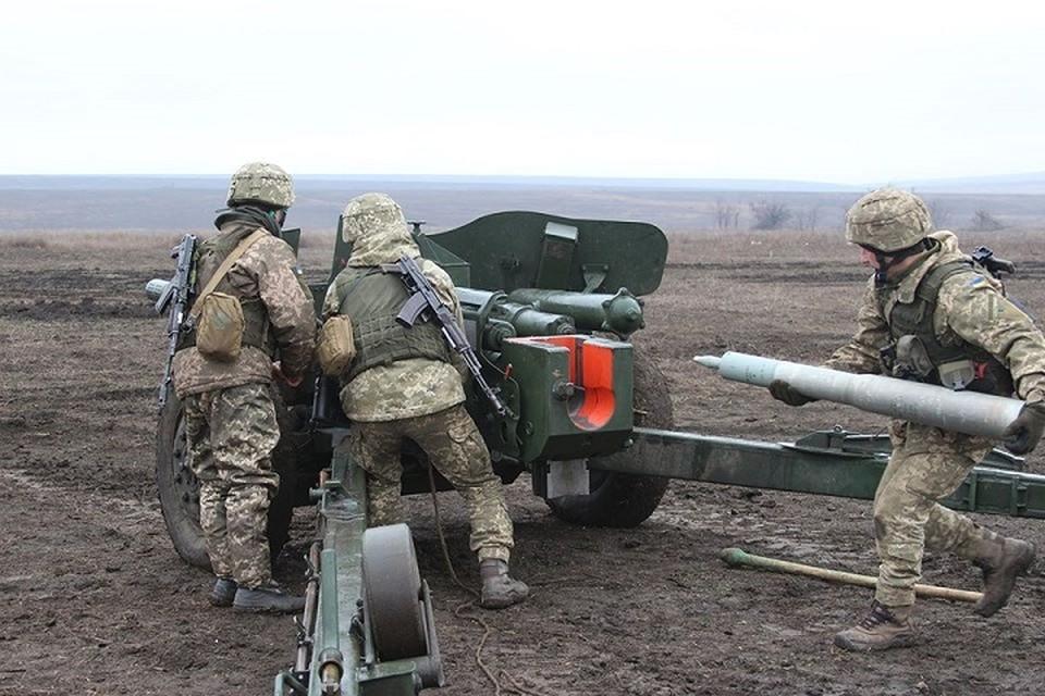 Защитники Республики погибли под украинским обстрелом. Фото: пресс-центр штаба ВСУ