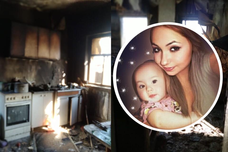 Мать с тремя детьми потеряла все в пожаре. Фото: предоставлены Татьяной Карышевой