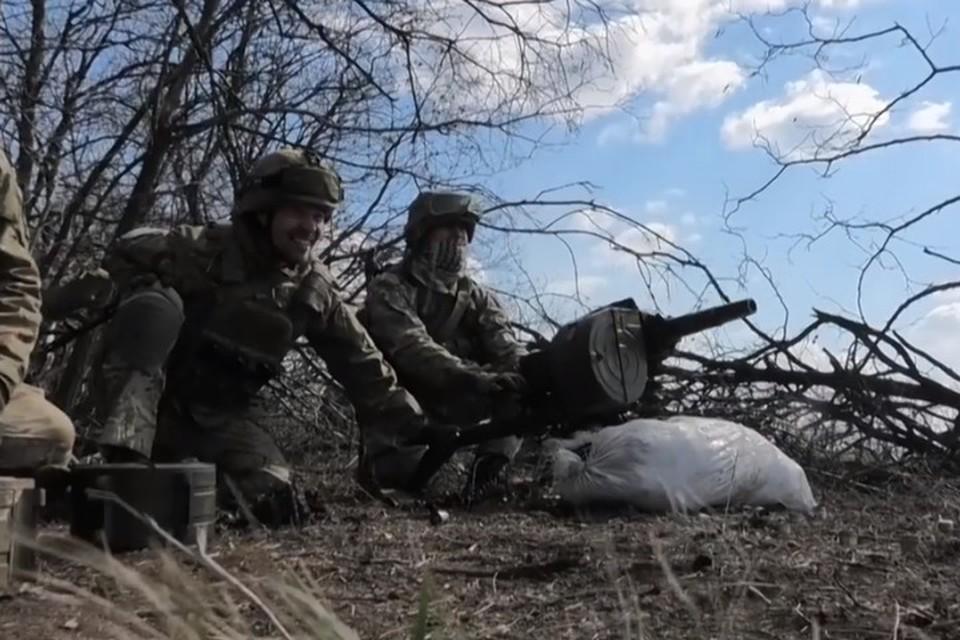 По поселку в Донецке стреляли из автоматического гранатомета. Фото: Пресс-центр штаба ООС