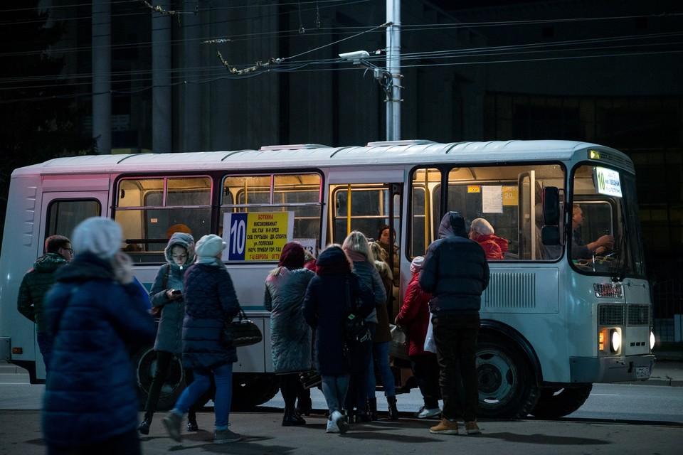 В Орле увеличат количество автобусов до сталепрокатного завода