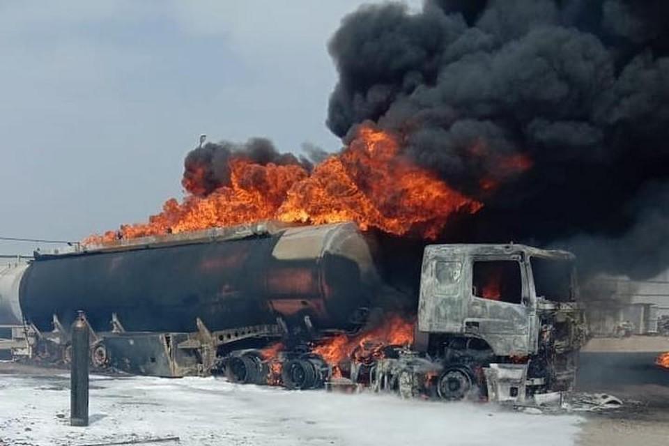 Всего в тушении пожара принимали участие 39 человек. Фото: instagram/artem.news.plus