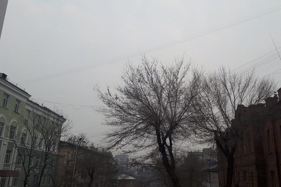 Серая и мрачная погода ждет Хабаровск в эти выходные