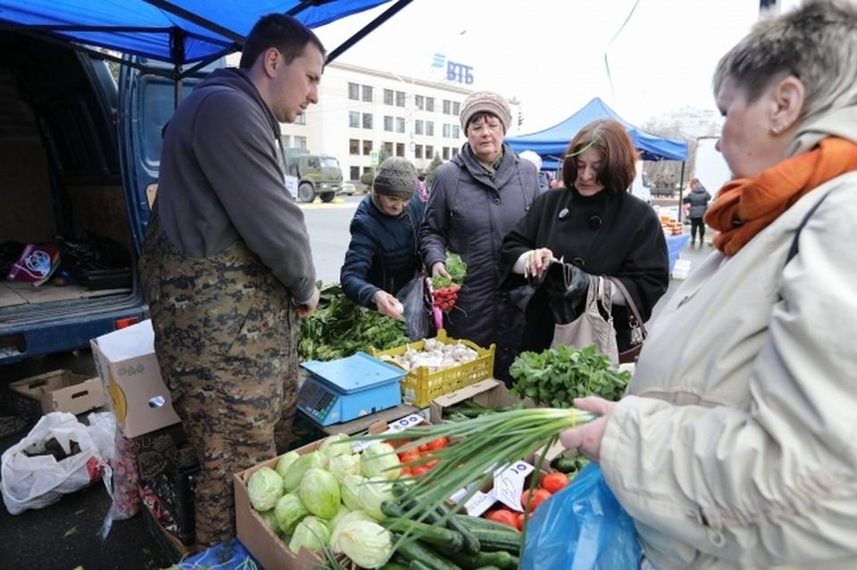На всех ярмарках выходного дня в Краснодаре можно купить продукцию кубанских фермеров и сельхозтоваропроизводителей