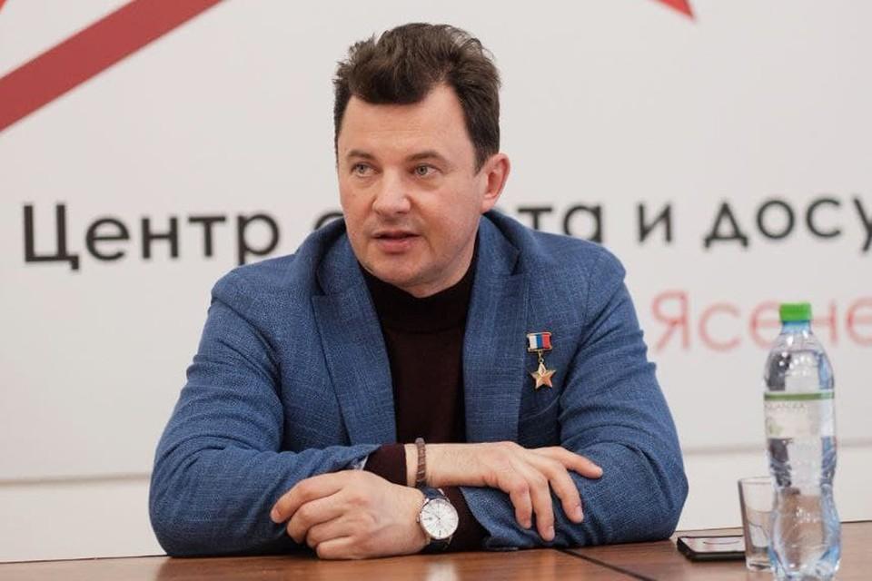 Летчик-космонавт, герой России Роман Романенко. Фото: Андрей ПЕТРОВ.
