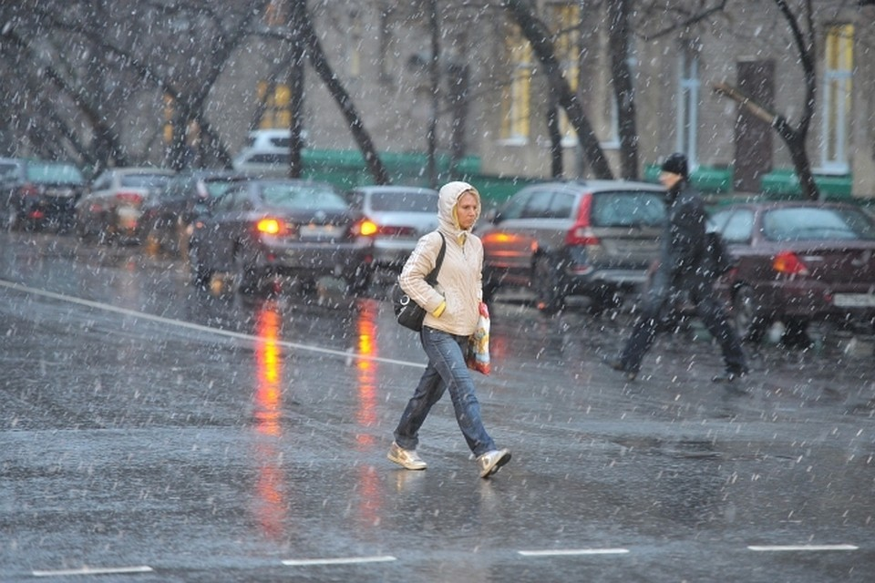 Ледяные дожди и мокрый снег ждут Иркутск в эти выходные.
