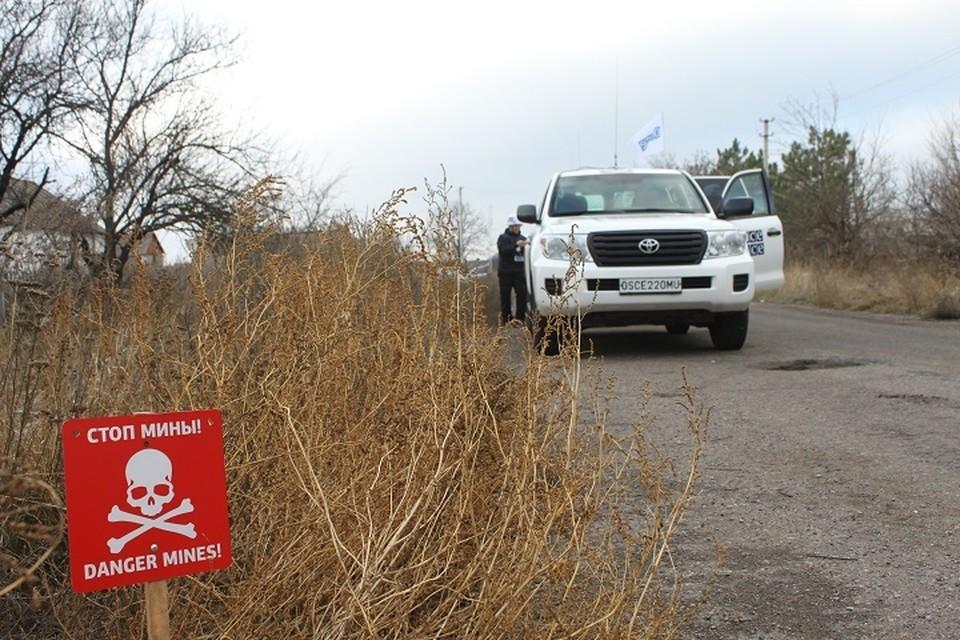 Украинская армия препятствует работе ОБСЕ (Архивное фото)