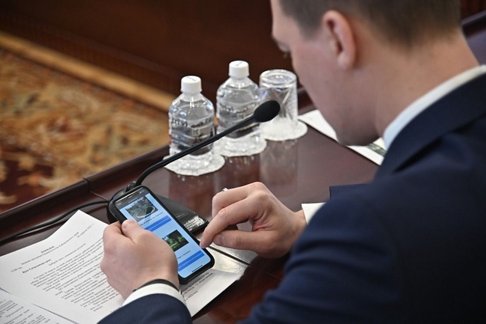 Началось голосование за общественные территории, которые будут благоустраивать в Хабаровском крае -Фото: Телеграм-канал Михаила Дегтярева