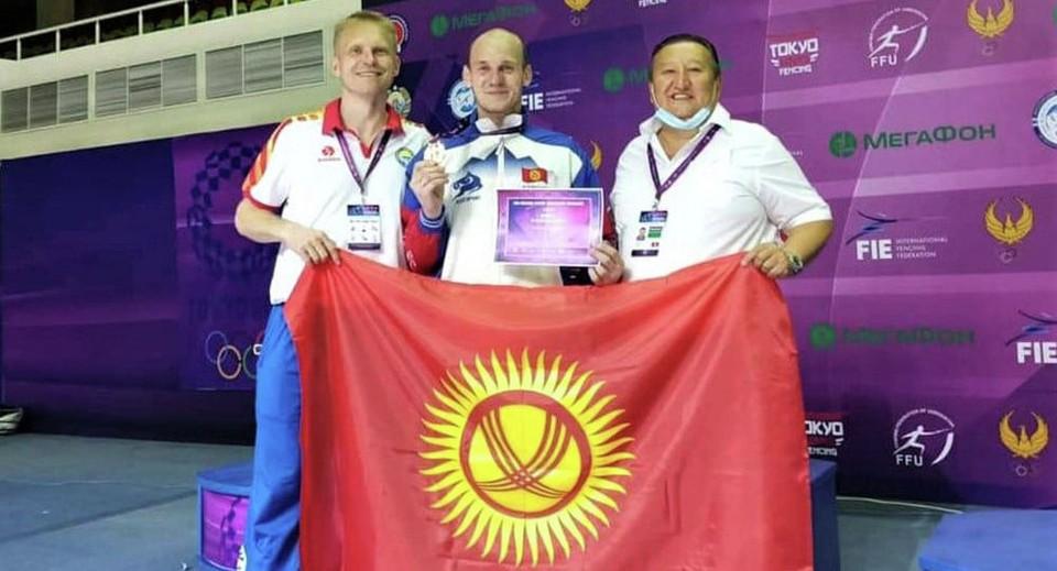 Роман Петров стал 13-м кыргызстанским спортсменом, завоевавшим олимпийскую лицензию.