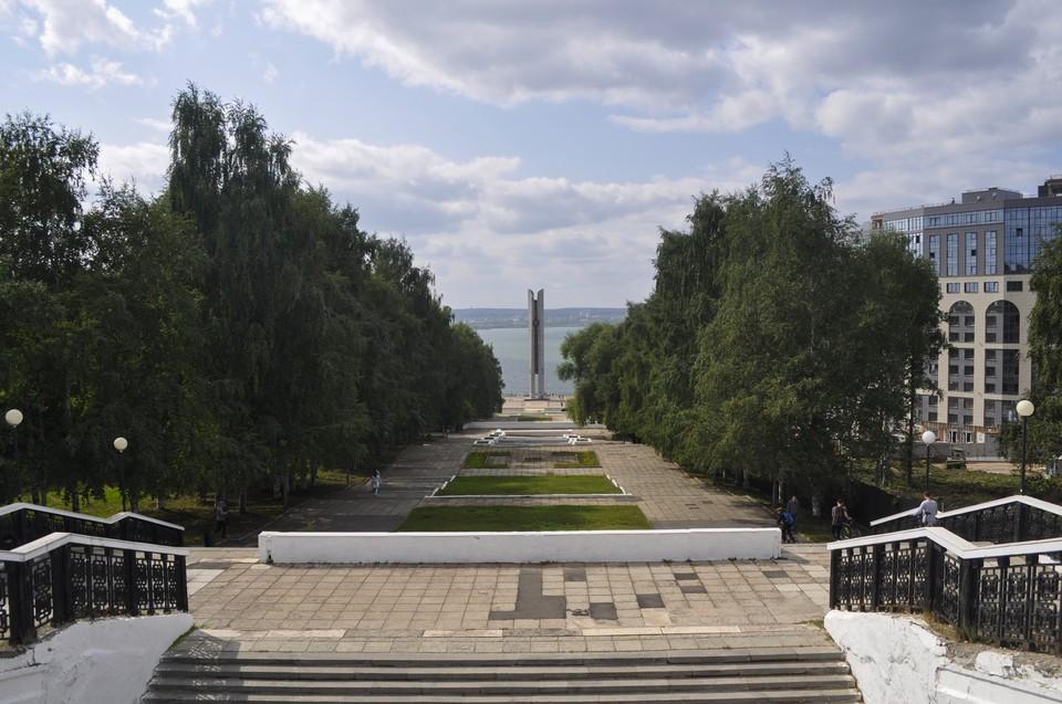 Жители Ижевска смогут выбрать одно из трех пространств для благоустройства в городе с 26 апреля