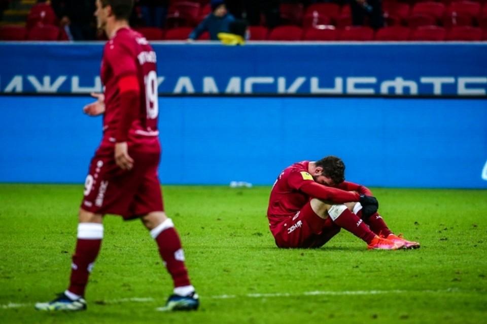 """Теперь, чтобы пробиться в еврокубки """"Рубину"""" надо выигрывать все оставшиеся три матча."""