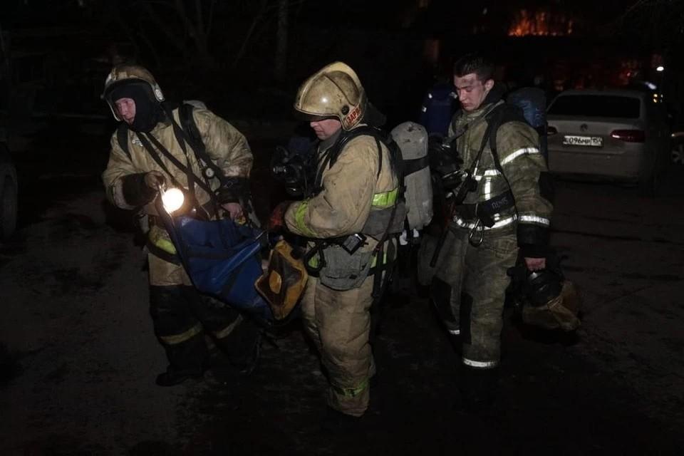 Новосибирца, устроившего пожар в многоквартирном доме, отправили в колонию. Фото: ГУ МЧС по Новосибирской области
