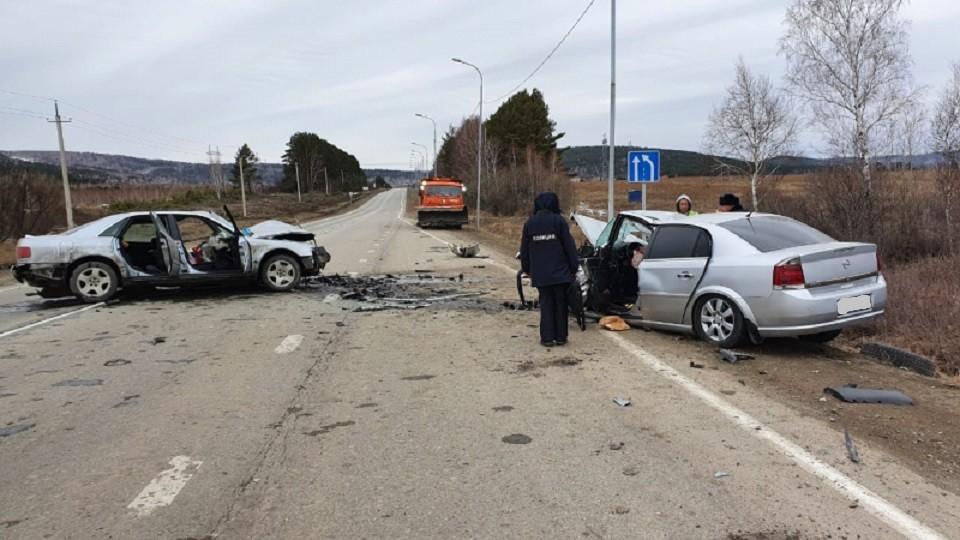 Очевидцев столкновения автомобилей Ауди и Опель разыскивают в Иркутской области