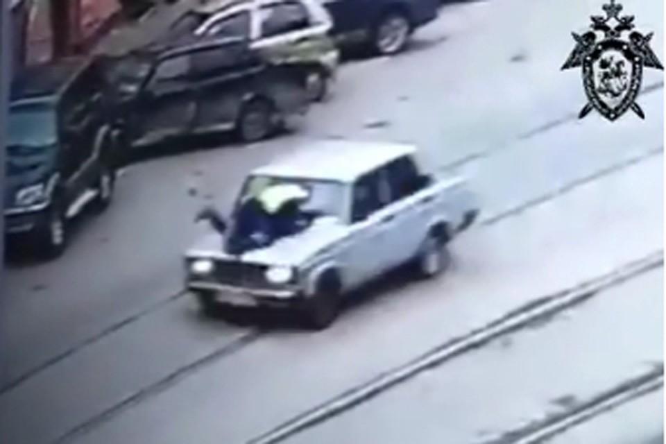 За рулем находился 16-летний подросток, не имеющий водительских прав. Фото: скриншот видео СУ СКР по Нижегородской области