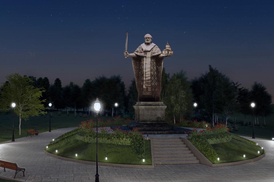 Так будет выглядеть памятник Николаю Чудотворцу в Липецке
