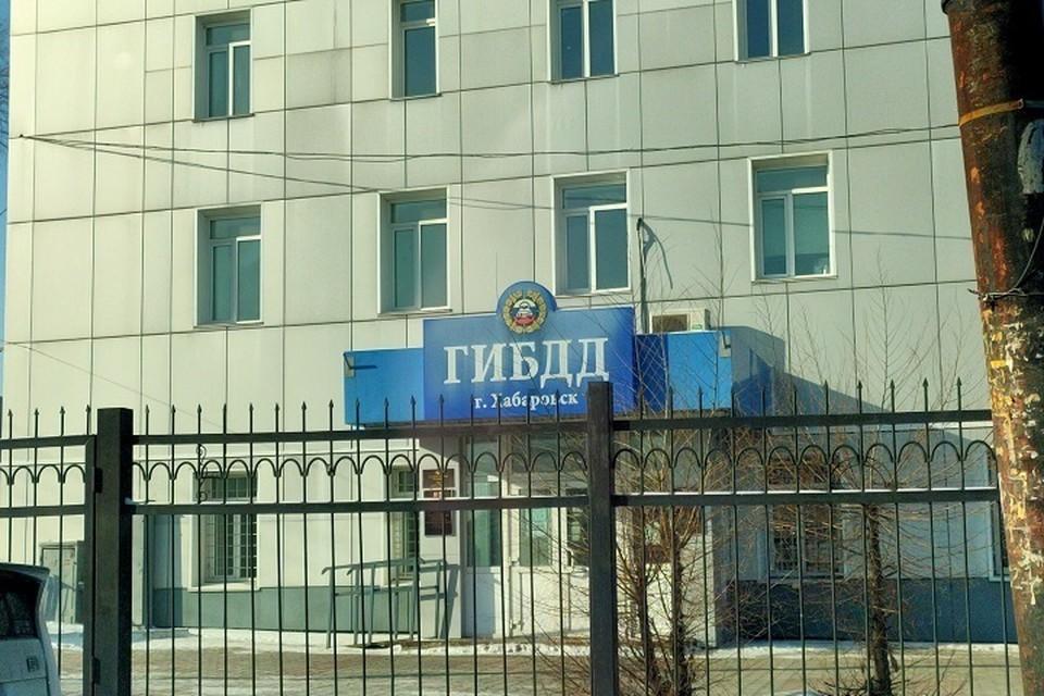 Хабаровчанка получила ушибы лица в результате ДТП в Хабаровске
