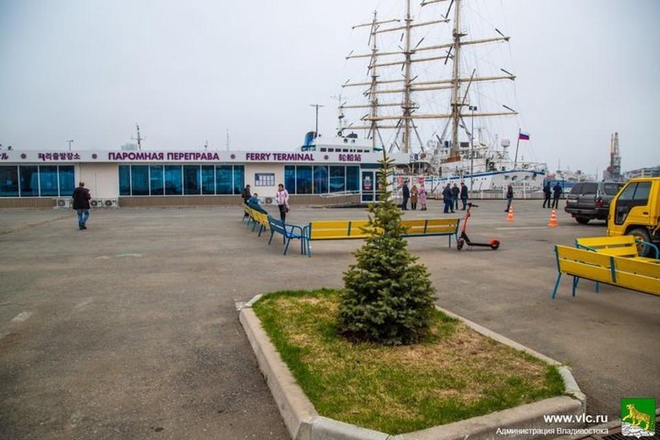Во Владивостоке отреставрируют территорию причала №33. Фото: Анастасия Котлярова/Администрация Владивостока.