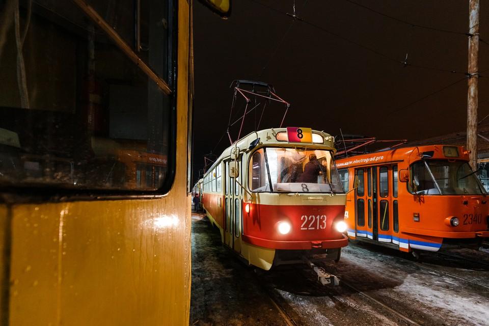 Расписание трамваев № 4, 8, 11 изменится на 30 апреля в Ижевске