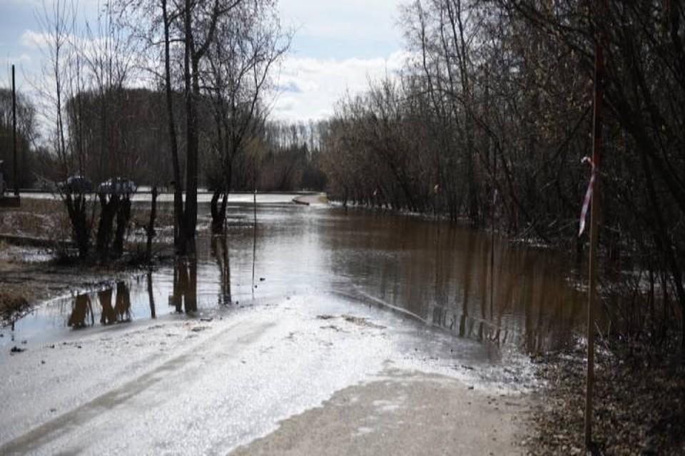 Уровень воды в реке Вятке достиг четырех метров. Фото: admkirov.ru
