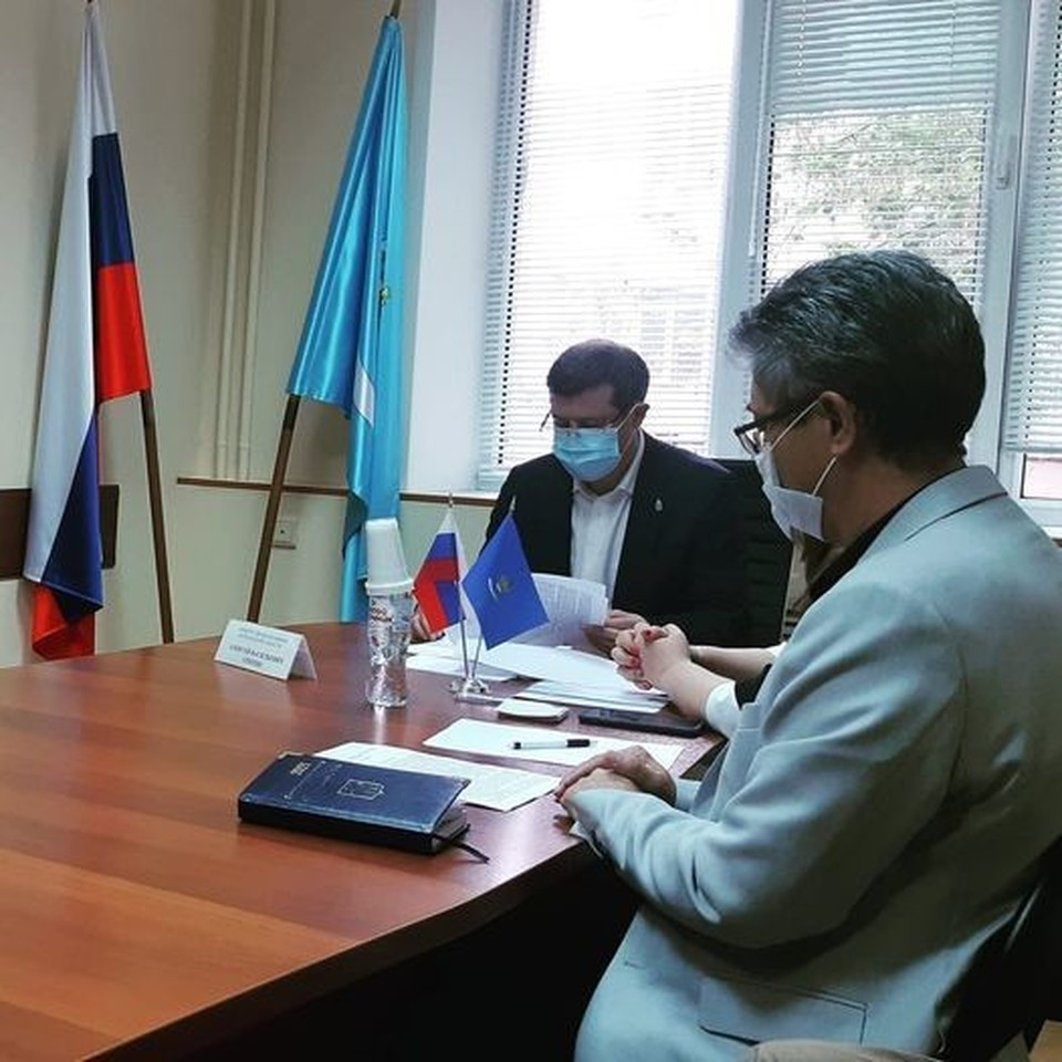 Министр здравоохранения Астраханской области, провёл приём граждан