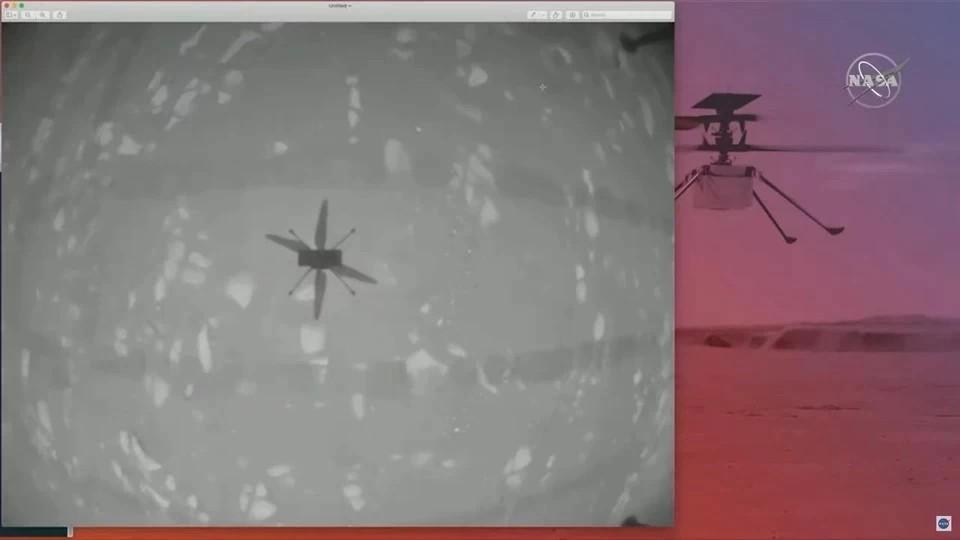 Вертолет Ingenuity не смог осуществить четвертый полет над поверхностью Марса