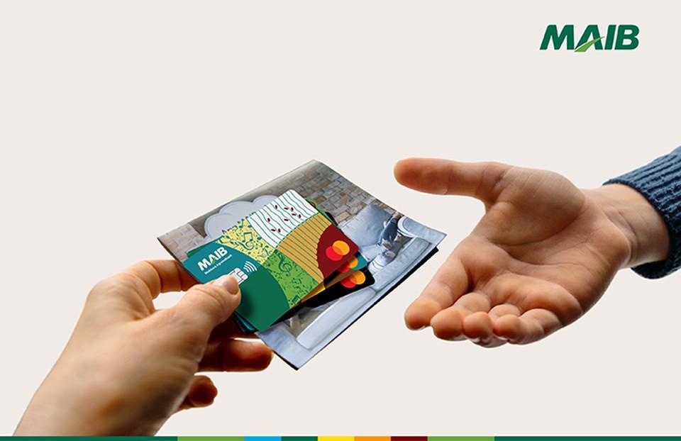Получи карты GAMA не выходя из дома всего в 2 клика. Фото:maib.md