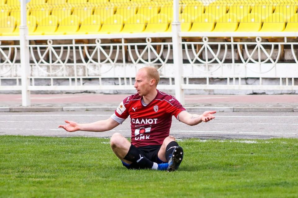 За девять туров до финиша чемпионата «Салют» занимает второе место. Фото fcsalyut.ru.