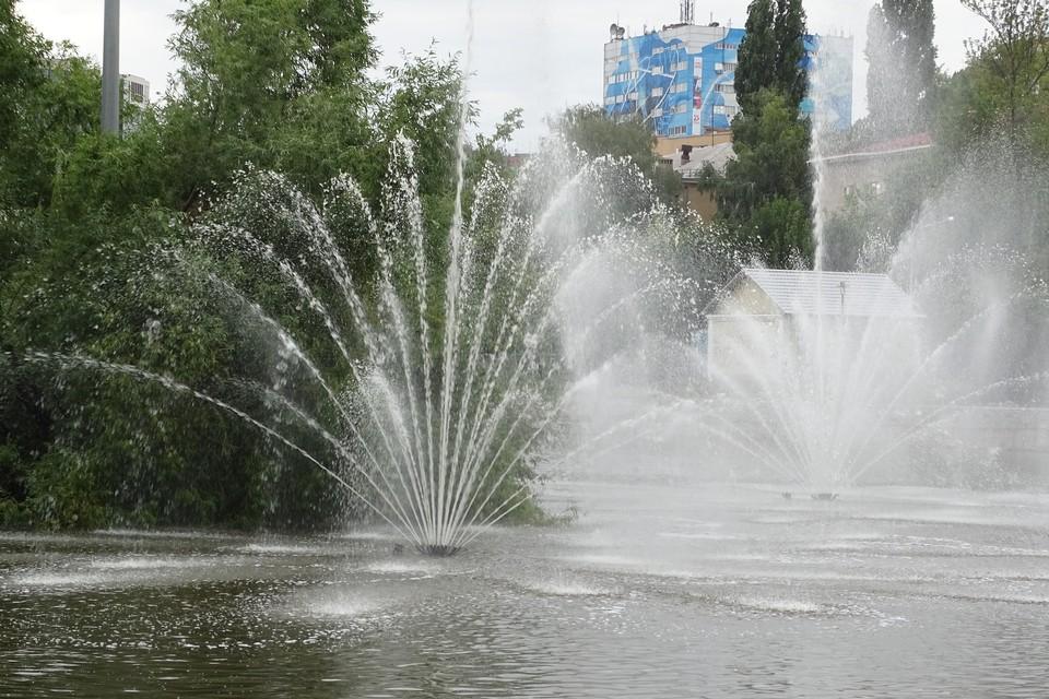 1 мая в Липецке стартует сезон фонтанов
