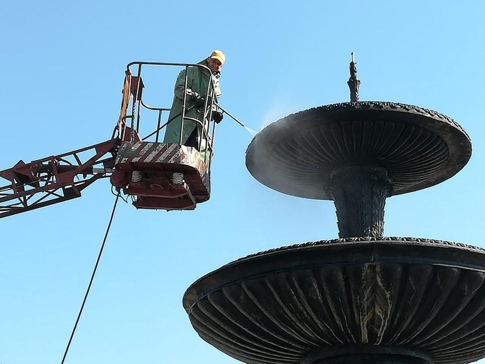 Омичи смогут полюбоваться фонтанами на майских праздниках. Фото: пресс-служба администрации Омска