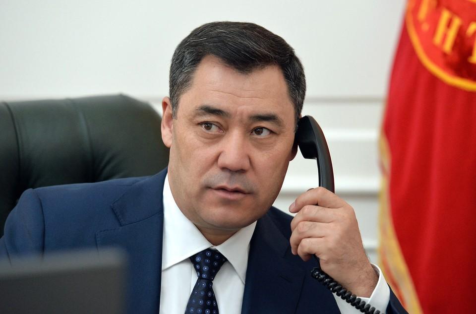 Состоялся второй разговор Садыра Жапарова с Рахмоном.