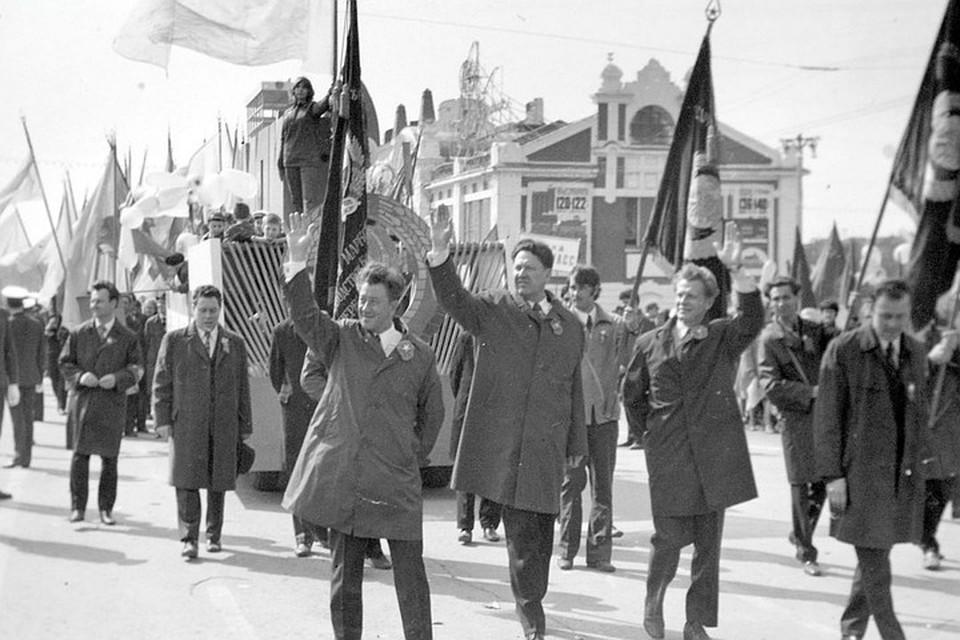 Первомай в 70-е годы. Фото: nsk-kraeved.ru