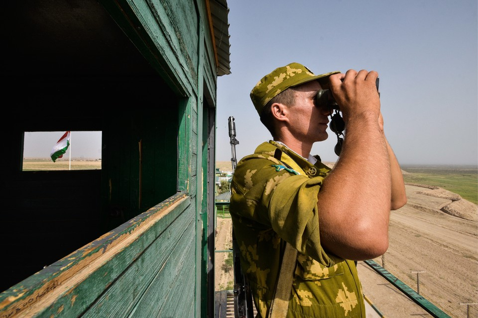 Пограничные конфликты на границе Таджикистана и Киргизии – дело обычное. Фото: Нозим Каландаров/ТАСС