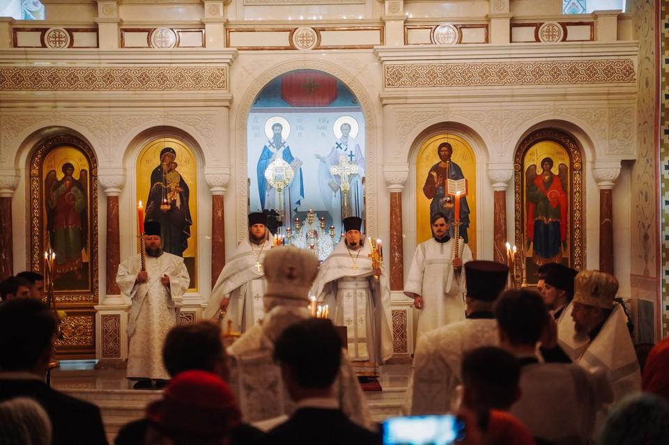 В Самаре прошли пасхальные богослужения