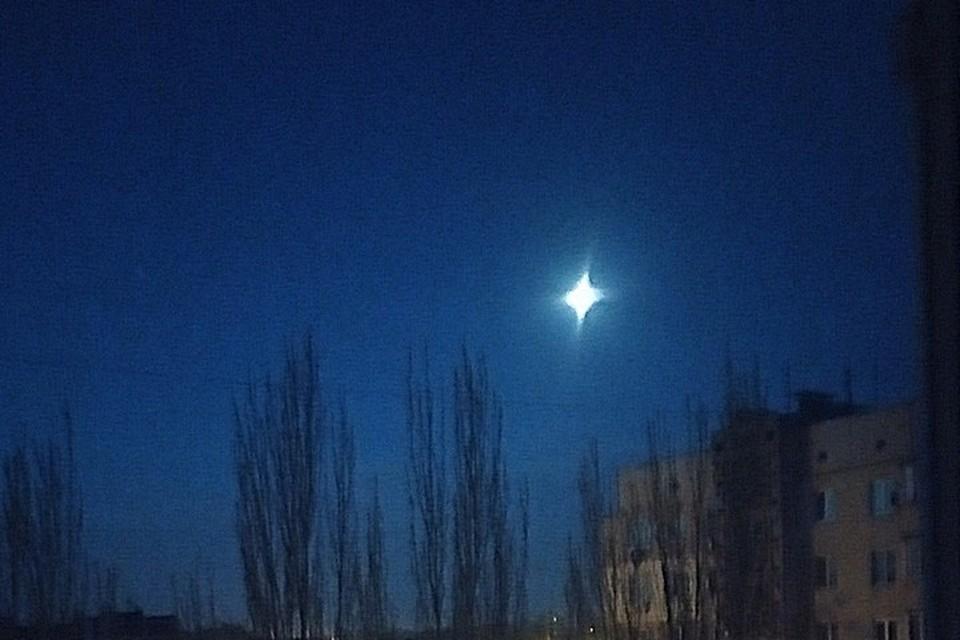Такая луна была видна несколько минут