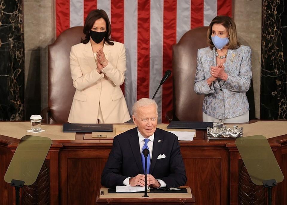 29 апреля Джо Байден впервые выступил с речью перед конгрессом в качестве президента США