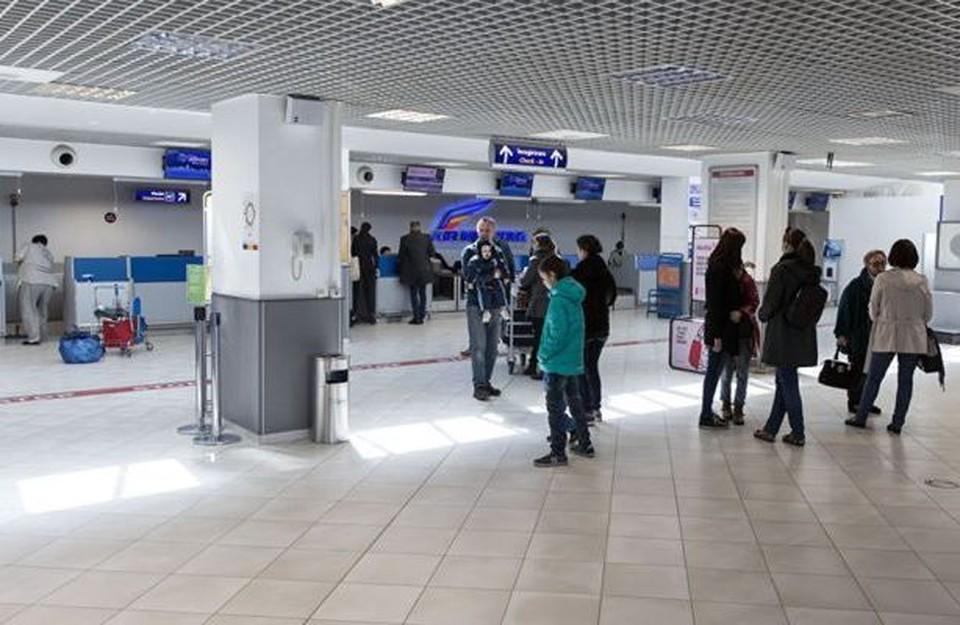 В аэропорту Кишинева - суета.