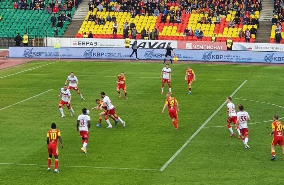 Тульский «Арсенал» упустил победу на домашнем поле