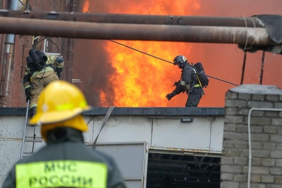 Пожар случился ранним утром 4 мая.