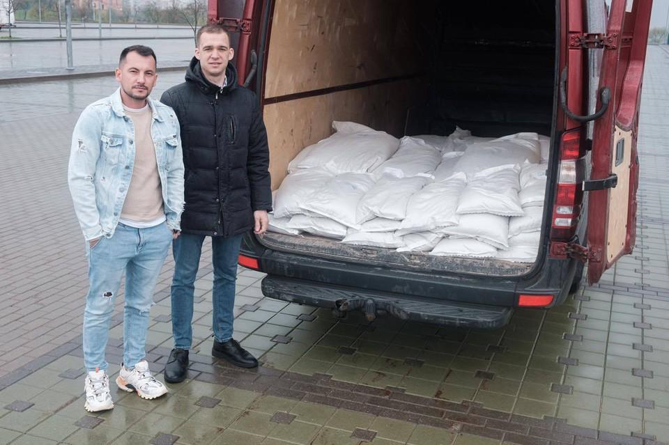Трейдер из Минска рассчитался за билет на бизнес-форум тонной зерна