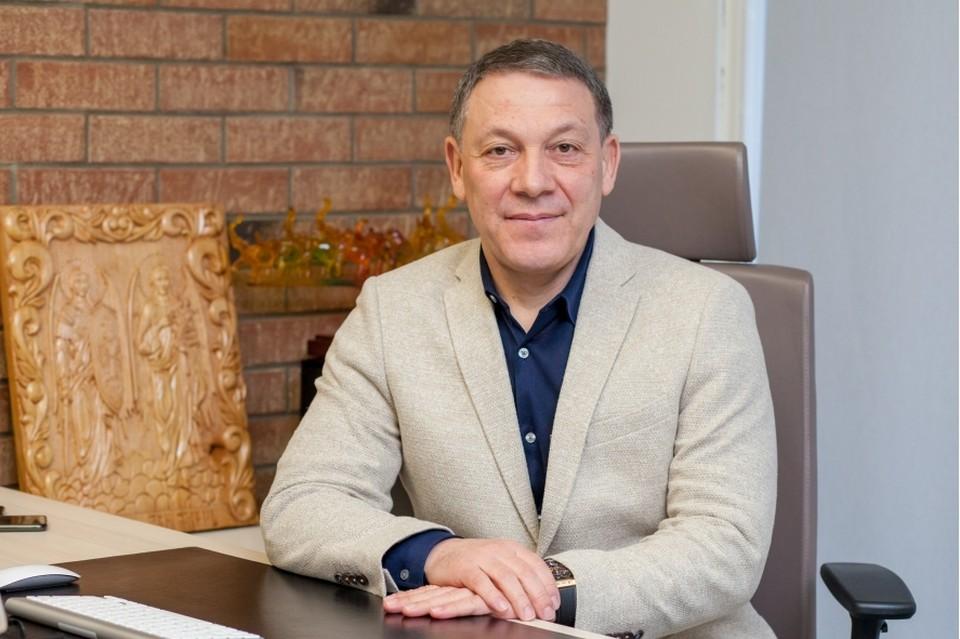 Михаил Караcени, коммерческий директор, вице-президент холдинга «Trans Oil». Фото: tribuna.md