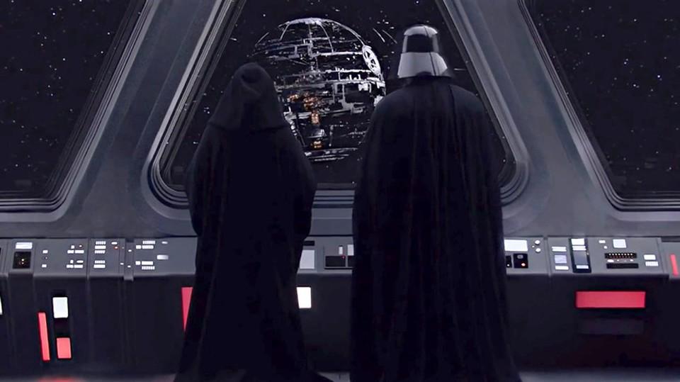 Для Империи Звезда смерти была главным оружием. Кадр из фильма «Звёздные Войны: Месть Ситхов»