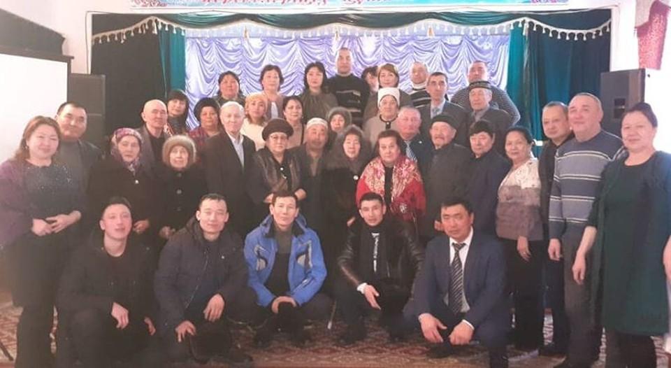 Большая родня Ольги Еребековой, с. Архат Семипалатинской области