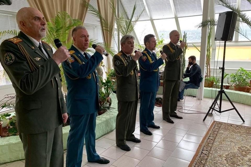 Ветераны с удовольствием участвуют в совместных мероприятиях