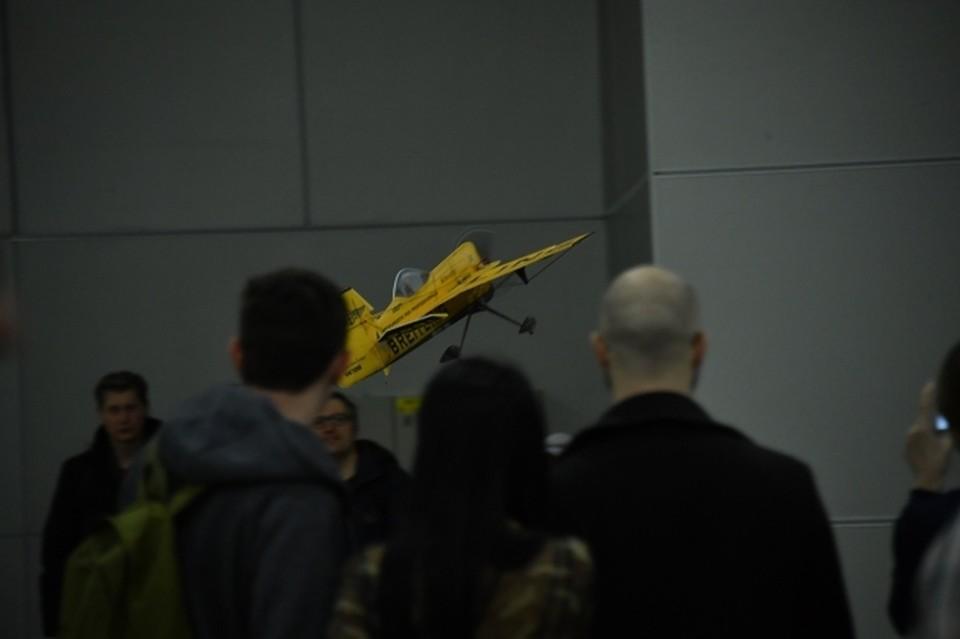 Понаблюдать за полетом авиамоделей смогут все желающие