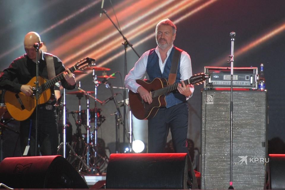 Леонид Агутин выступил на 9 Мая в Екатеринбурге