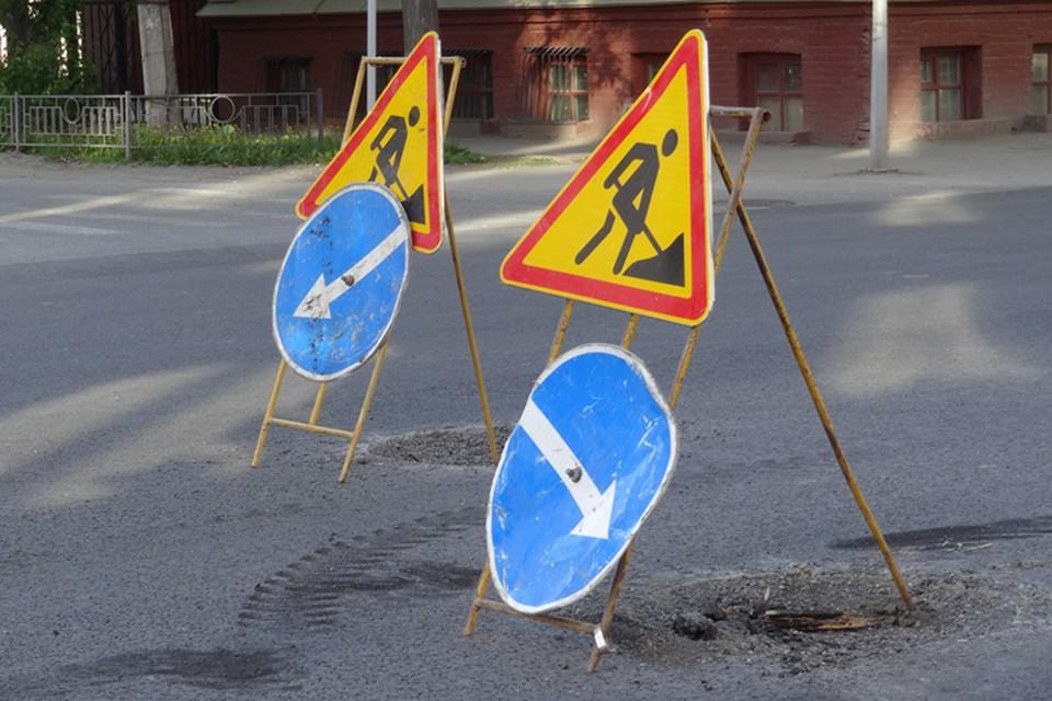 В Новом Уренгоя начался сезон ремонта дорог