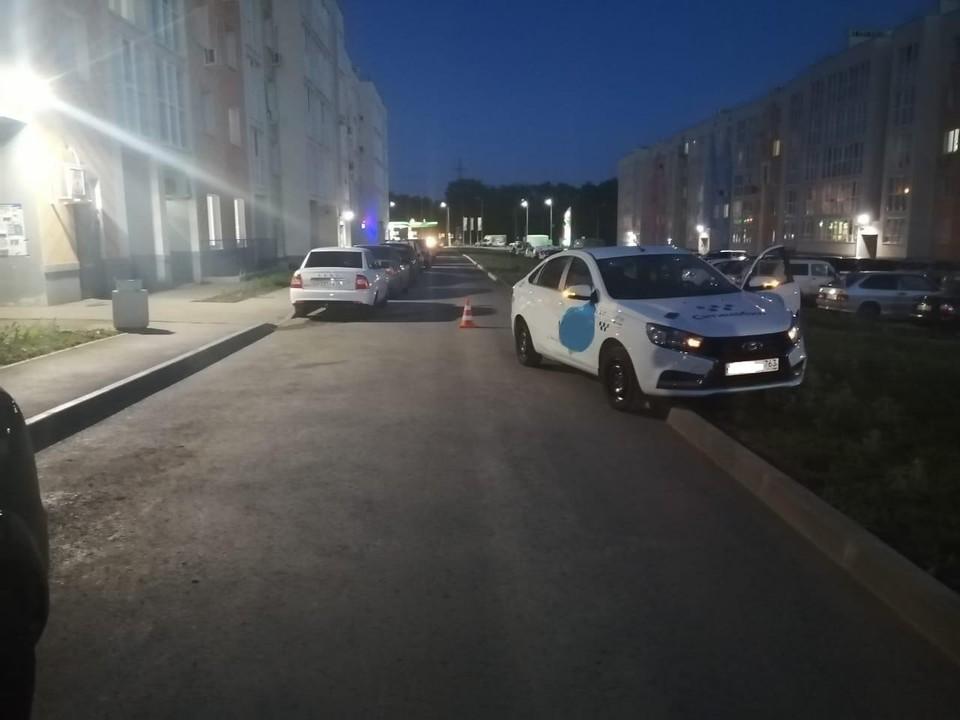 Девочка выбежала на дорогу внезапно Фото: ГУ МВД по Самарской области